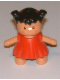 Minifig No: 31312pb03  Name: Duplo Figure Doll, Sarah's Baby, Red Dress
