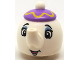 Minifig No: 35735pb01  Name: Mrs. Potts (Duplo Utensil Teapot)