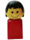 Minifig No: 4224c01  Name: Basic Figure Finger Puppet Female (bfp001)