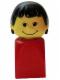 Minifig No: 4224c01  Name: Basic Figure Finger Puppet Female (bfp001)