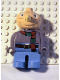 Minifig No: 4555pb082  Name: Duplo Figure, Male, Naughty Spud (Bob the Builder)