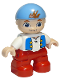 Minifig No: 47205pb027  Name: Duplo Figure Lego Ville, Never Land Pirates, Cubby