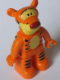 Minifig No: 47394pb139  Name: Duplo Figure Winnie the Pooh, Tigger (Lego Ville - 4600055)