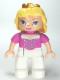 Minifig No: 47394pb147  Name: Duplo Figure Lego Ville, Disney Princess, Sleeping Beauty