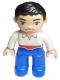 Minifig No: 47394pb155  Name: Duplo Figure Lego Ville, Disney Princess, Prince Eric