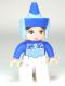 Minifig No: 47394pb172  Name: Duplo Figure Lego Ville, Disney Princess, Fairy Godmother