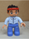 Minifig No: 47394pb185  Name: Duplo Figure Lego Ville, Never Land Pirates, Lost Boy