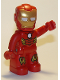Minifig No: 47394pb282  Name: Duplo Figure Lego Ville, Iron Man