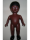Minifig No: 61295pb03  Name: Duplo Figure Doll, Large, without Clothes, Black Curled Hair, Brown Body