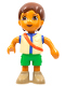 Minifig No: 6473  Name: Duplo Figure Dora the Explorer, Diego