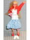 Minifig No: 71520  Name: Scala Doll (Emma with Clothes, Dress Blue)