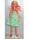 Minifig No: 72055  Name: Scala Doll (Emma with Clothes, Dress Green)