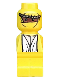 Minifig No: 85863pb006  Name: Microfigure Ramses Pyramid Adventurer Yellow
