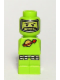 Minifig No: 85863pb014  Name: Microfigure Lunar Command Lime
