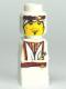 Minifig No: 85863pb029  Name: Microfigure Orient Bazaar White