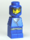 Minifig No: 85863pb031  Name: Microfigure Orient Bazaar Merchant Blue