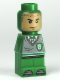 Minifig No: 85863pb040  Name: Microfigure Hogwarts Slytherin House Player