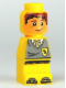 Minifig No: 85863pb042  Name: Microfigure Hogwarts Hufflepuff House Player