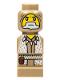 Minifig No: 85863pb059  Name: Microfigure Heroica Druid