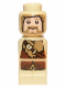 Minifig No: 85863pb094  Name: Microfigure The Hobbit Fili the Dwarf