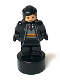Minifig No: 90398pb029  Name: Gryffindor Student Statuette / Trophy #3, Black Hair