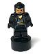 Minifig No: 90398pb030  Name: Hufflepuff Student Statuette / Trophy #1, Nougat Face