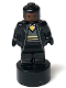 Minifig No: 90398pb031  Name: Hufflepuff Student Statuette / Trophy #2, Reddish Brown Face