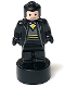 Minifig No: 90398pb032  Name: Hufflepuff Student Statuette / Trophy #3, Light Nougat Face