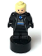 Minifig No: 90398pb034  Name: Ravenclaw Student Statuette / Trophy #2, Bright Light Yellow Hair, Light Nougat Face