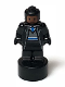 Minifig No: 90398pb035  Name: Ravenclaw Student Statuette / Trophy #3, Black Hair, Reddish Brown Face