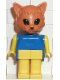 Minifig No: Fab3e  Name: Fabuland Figure Cat 1