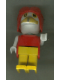 Minifig No: Fab4f  Name: Fabuland Figure Crow 3 with Aviator Helmet