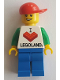 Minifig No: LLP006  Name: LEGOLAND Park Male, I Brick LEGOLAND Top