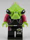 Minifig No: ac002  Name: Alien Pilot