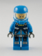 Minifig No: ac005  Name: Alien Defense Unit Soldier 2 - Dark Bluish Gray Hips