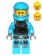 Minifig No: ac014  Name: Alien Defense Unit Soldier 6