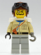 Minifig No: adv004  Name: Baron Von Barron with Brown Aviator Cap