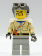 Minifig No: adv005  Name: Baron Von Barron with Light Gray Aviator Cap