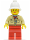 Minifig No: adv015  Name: Miss Gail Storm (Desert)