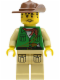 Minifig No: adv024  Name: Johnny Thunder (Expedition)