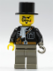 Minifig No: adv025  Name: Lord Sam Sinister with Black Top Hat