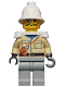 Minifig No: adv039  Name: Baron Von Barron with Pith Helmet and White Epaulettes