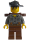 Minifig No: adv042  Name: Max Villano with Backpack