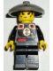 Minifig No: adv046  Name: Dragon Fortress Guard - Conical Straw Hat