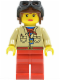 Minifig No: adv049  Name: Pippin Reed - Aviator Cap and Goggles