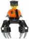 Minifig No: agt014  Name: Spy Clops, Black Legs