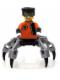 Minifig No: agt015  Name: Spy Clops, Pearl Light Gray Legs
