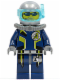 Minifig No: agt020  Name: Agent Chase - Diving Gear - Dual Sided Head