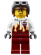 Minifig No: air054  Name: Airport - Stunt Pilot Male