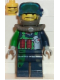 Minifig No: alp016  Name: Crunch, Mission Deep Sea